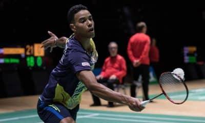 Ygor Coelho, do Badminton, nos Jogos Pan-Americanos