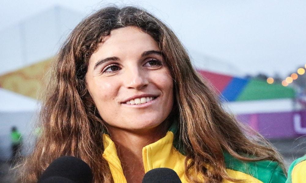 Martine Grael Vela 49erFX Jogos Olímpicos de Tóquio 2020