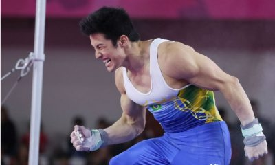 Arthur Nory, da ginástica artística, quer medalha em Tóquio 2020