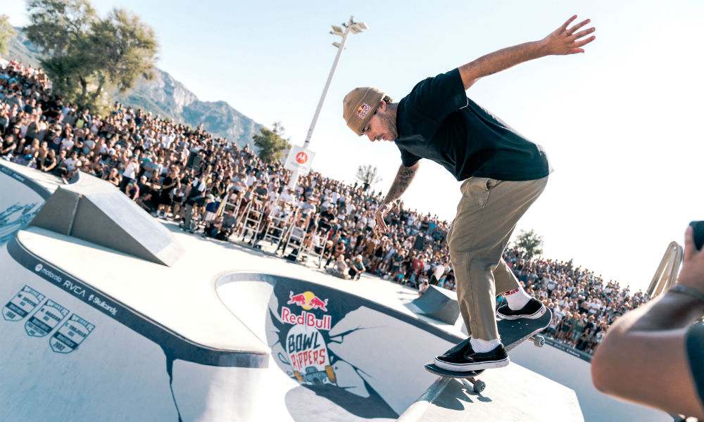 Vans Park Series skate adiamento pedro barros skate park