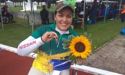 Jane Karla, do tiro com arco paralímpico