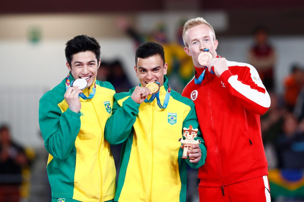 Caio Souza- individual geral - Jogos Olímpicos de Tóquio 2020 - Pan de Lima 2019, equipe masculina ginástica artística