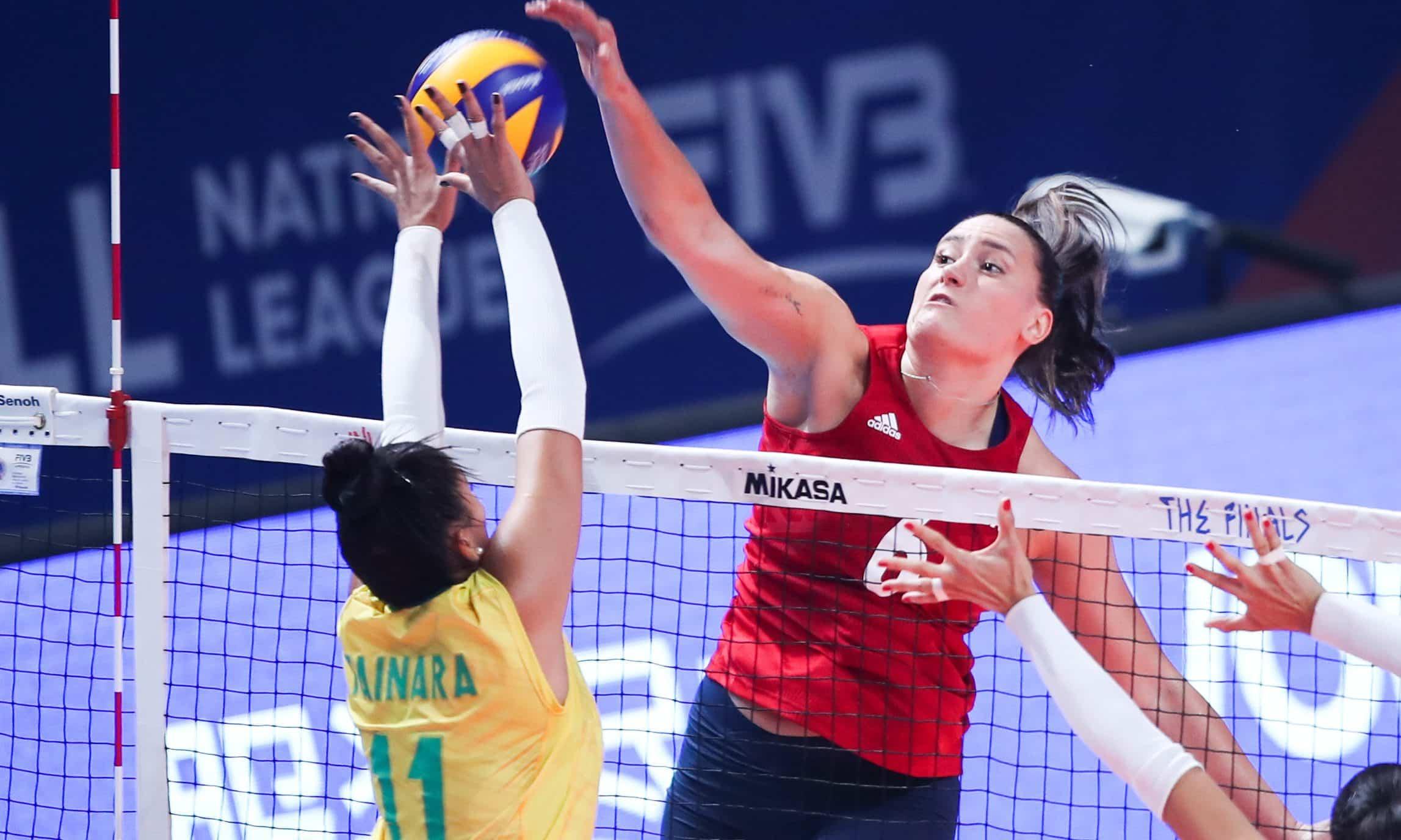 Brasil e EUA na Liga das Nações