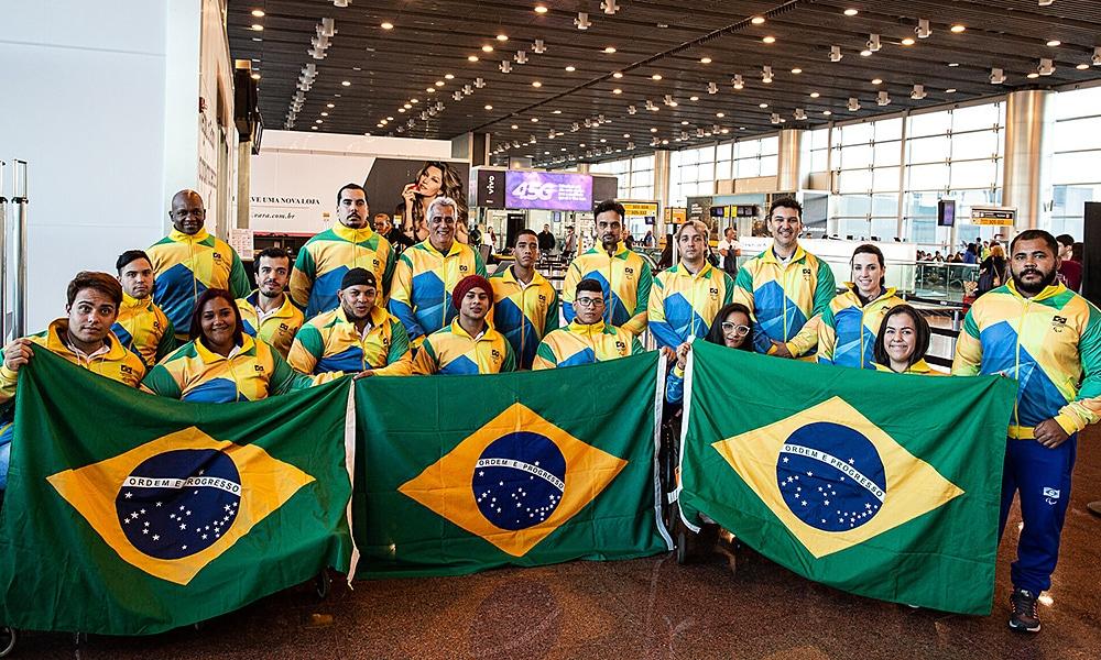 Delegação Brasileira no Mundial de Halterofilismo Paralímpico