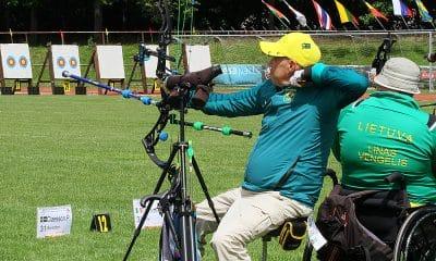 Eugênio Franco no Tiro com Arco composto paralímpico