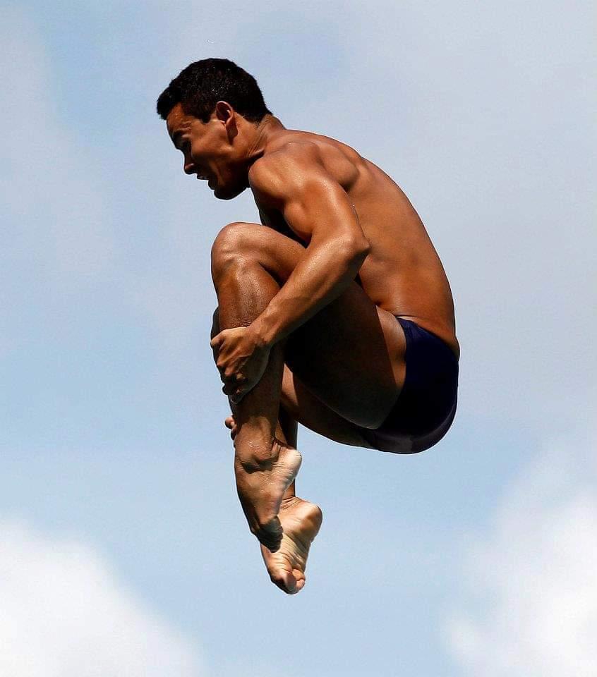 Ian Matos dos saltos ornamentais