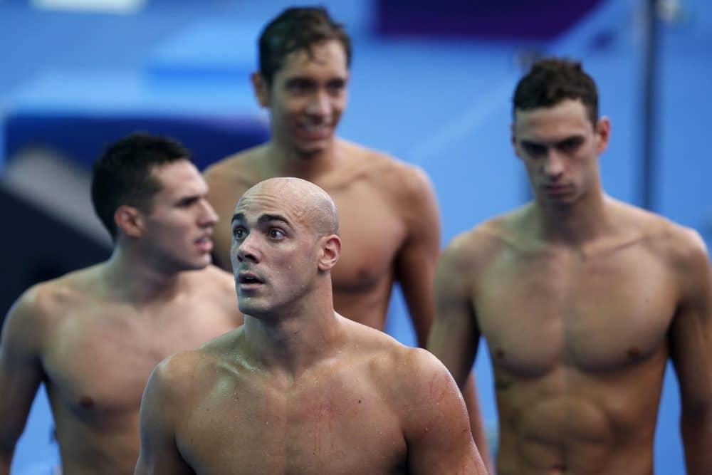 César Cielo vê revezamento 4x200m com chances de ouro na Olimpíada