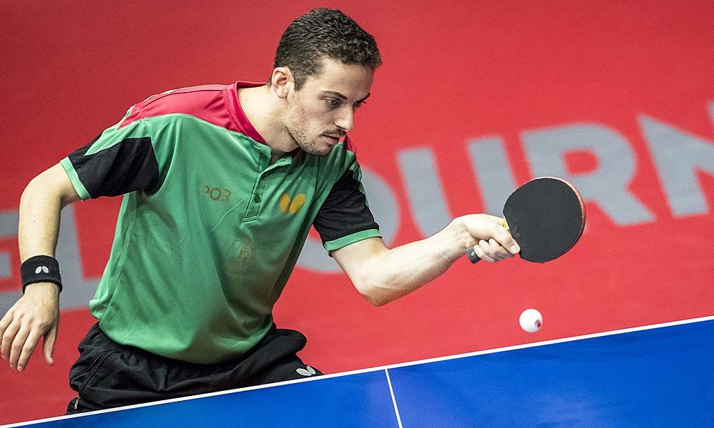 Portugês Marcos Freitas no Aberto da Austrália de tênis de mesa