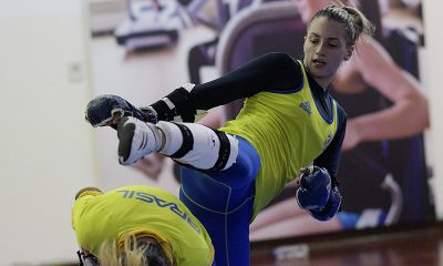 Milena Titoneli, do taekondo, nos Jogos Pan-Americanos