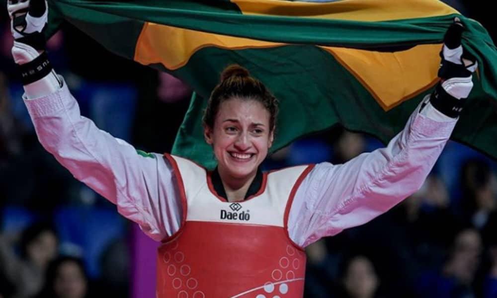 milena titoneli taekwondo peso médio feminino até 67kg Jogos Olímpicos de Tóquio 2020