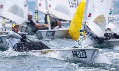 Robert Scheidt no Mundial da Classe Laser