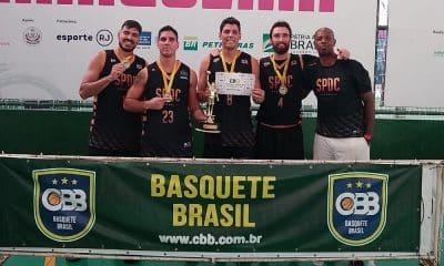 São Paulo DC leva 1ªetapa do Campeonato Brasileiro de Basquete 3×3