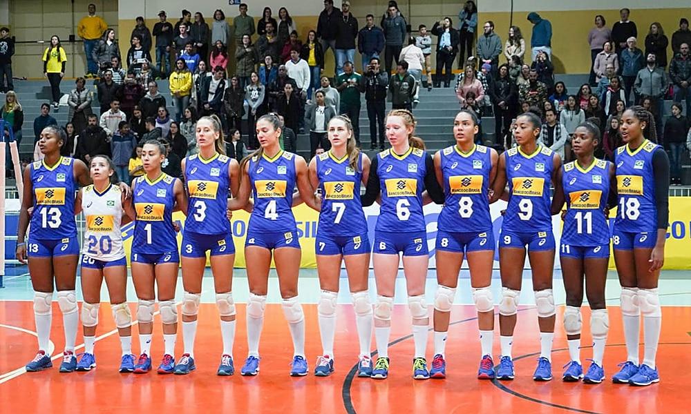 Seleção no Mundial Sub-20 de vôlei feminino