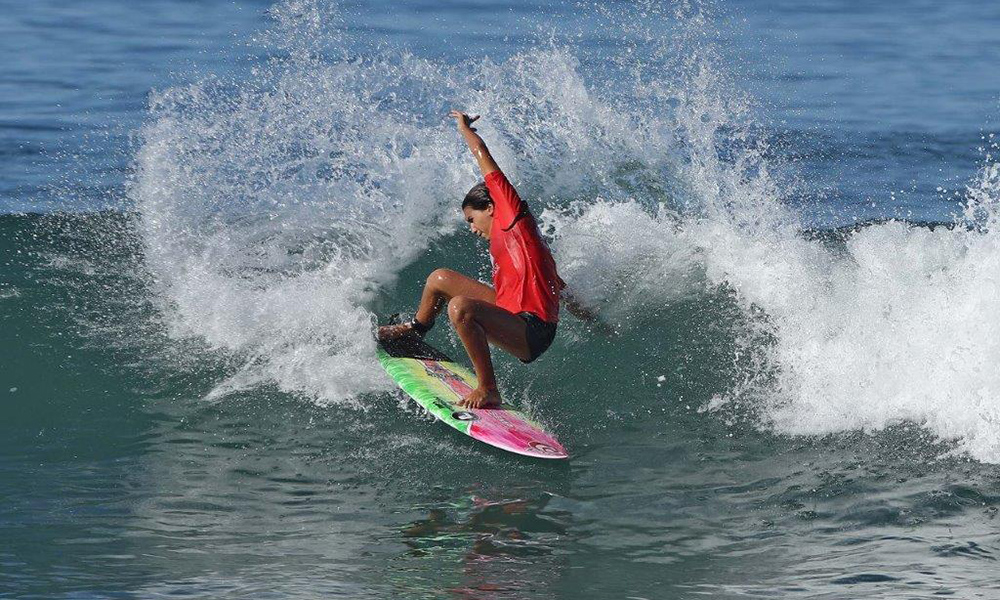 Sophia Medina circuito brasileiro de surfe de base calendário CBSurf Pro Tour