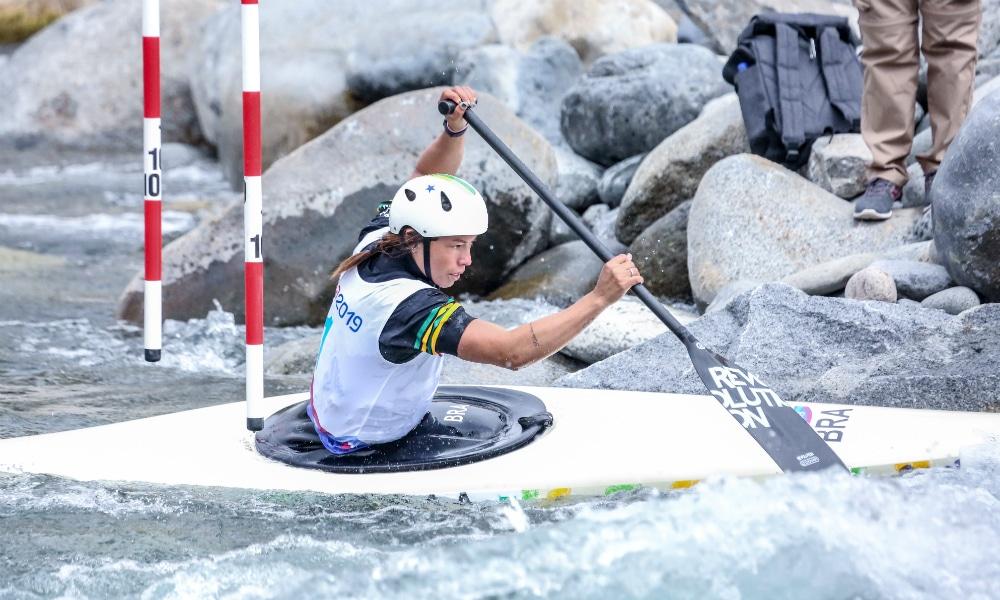 Ana Sátila, da Canoagem Slalom