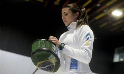 Amanda Simeao - Esgrima - Alexandre LoureiroCOB
