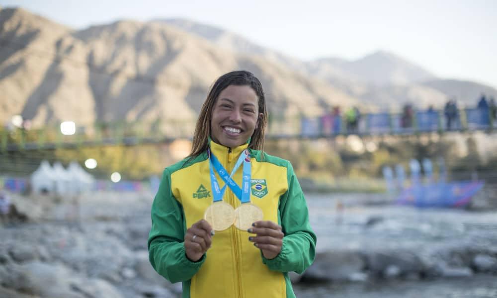 Ana Sátila está classificada para disputar duas provas na Olimpíada de Tóquio