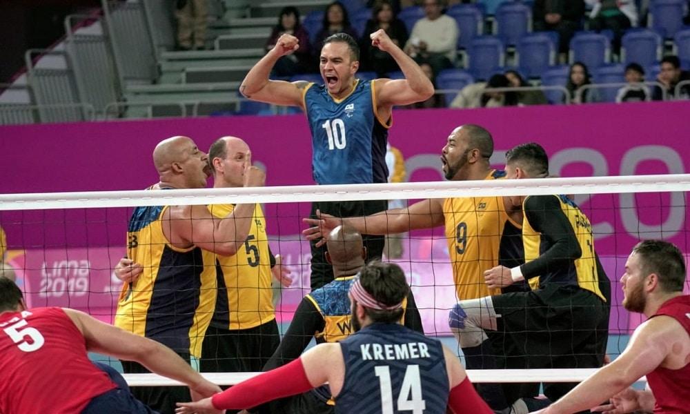 Brasil conquista o tetra e se garante em Tóquio no vôlei sentado