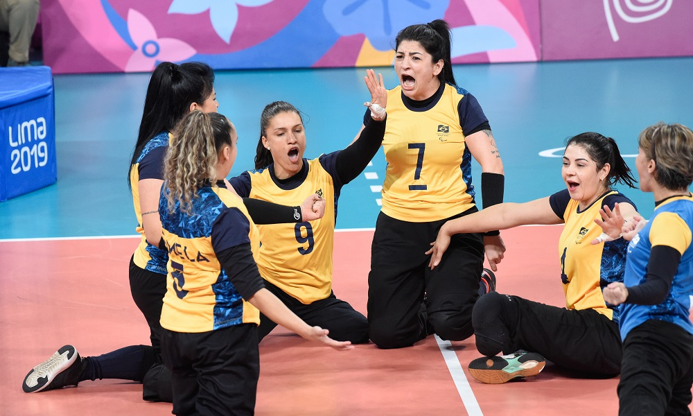 Seleção brasileira feminina de vôlei sentado