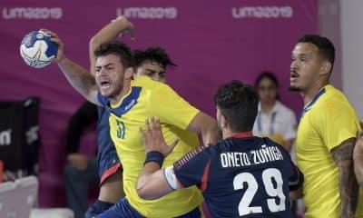Tabela do Campeonato Sul e Centro-Americano de handebol masculino 2020