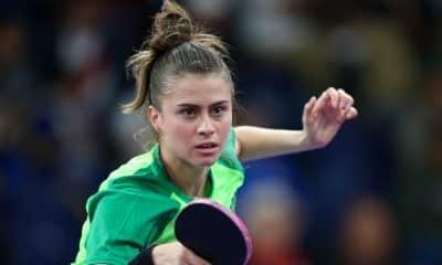 Bruna Takahashi Aberto da Alemanha de tênis de mesa