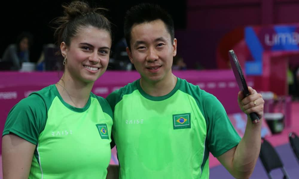 Bruna Takahashi e Gustavo Tsuboi