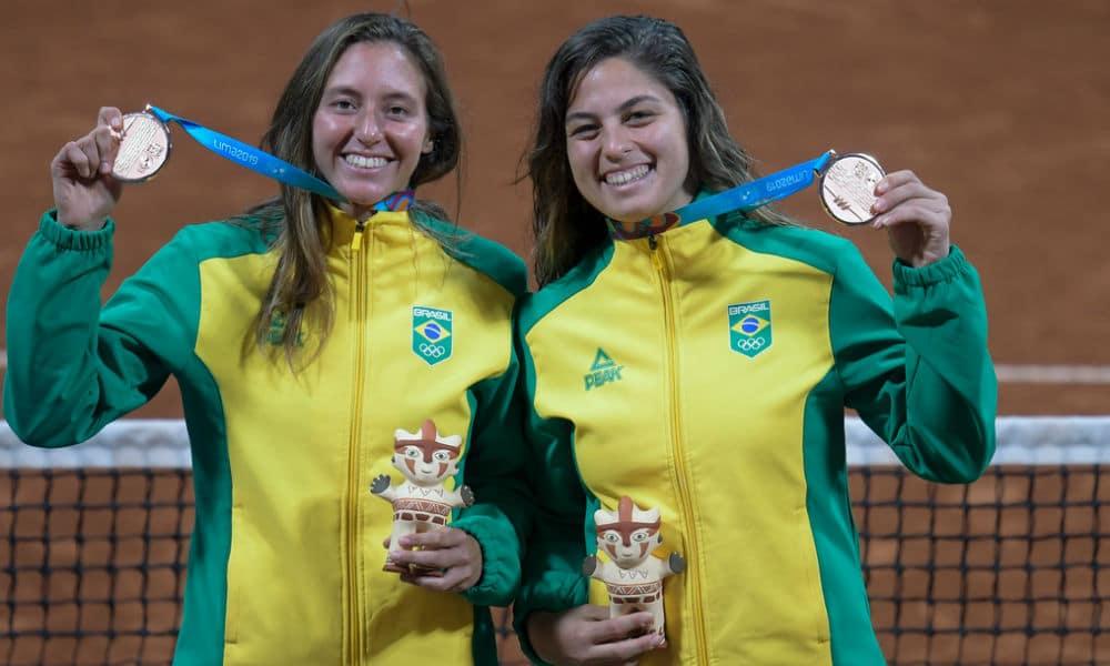 Luisa Stefani - tênis feminino - duplas - Jogos Olímpicos de Tóquio 2020 - Carol Meligeni - Pan-2017