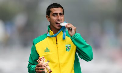 Caio Bonfim, da seleção brasileira de marcha atlética