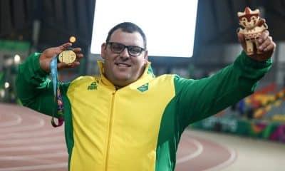 Darlan Romani arremesso de peso Jogos Olímpicos de Tóquio 2020 masculino