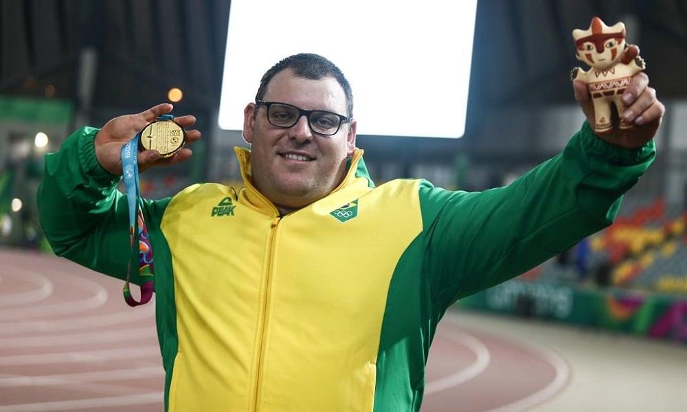 Conheça mais sobre Darlan Romani, atleta do atletismo que disputará a o arremesso de peso nos Jogos Olímpicos de Tóquio 2020