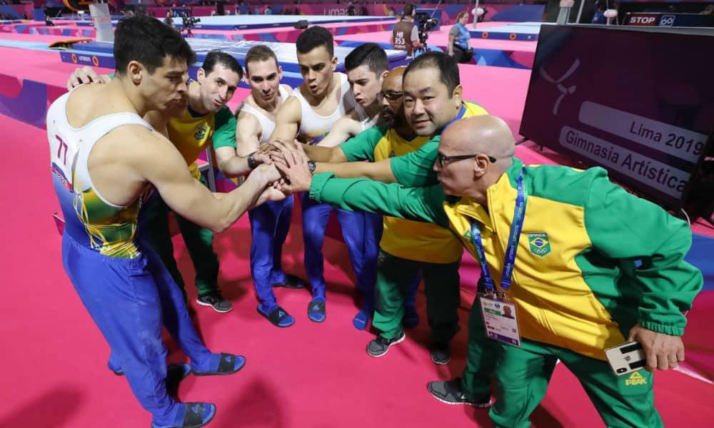 equipe masculina classificada para os jogos olímpicos de tóquio-2020