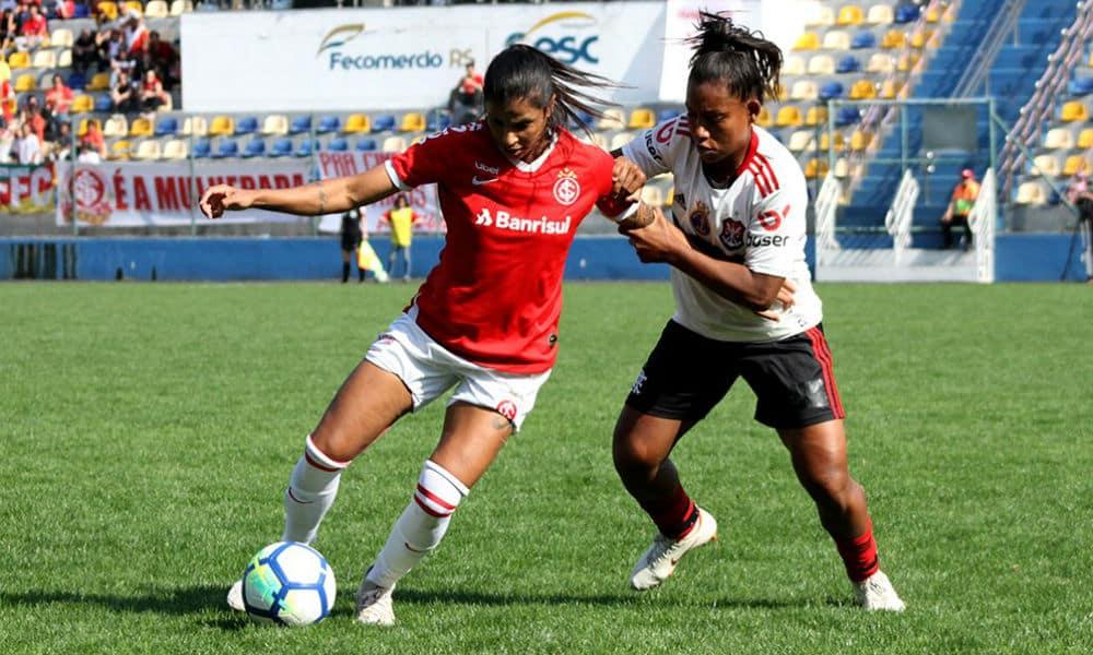 Inter E Flamengo Empatam Nas Quartas Do Brasileiro De