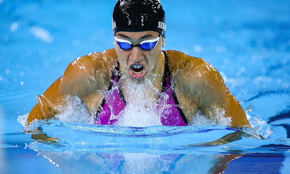 Julia Sebastián, natação do Minas Tênis, vai disputar o José Finkel