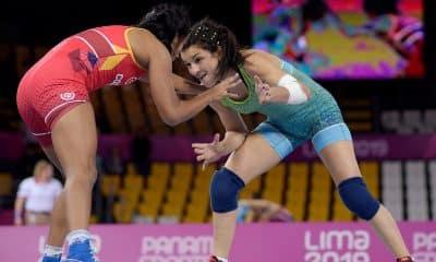 Kamila Barbosa Pré-Olímpico de Wrestling