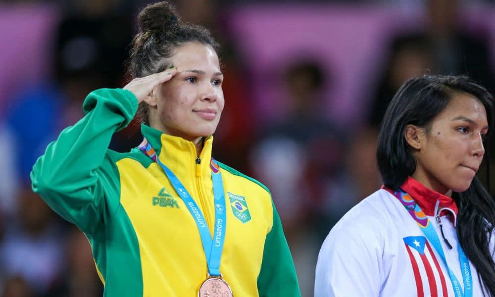 Laís Nunes wrestling luta olímpica até 62kg Jogos Olímpicos de Tóquio 2020
