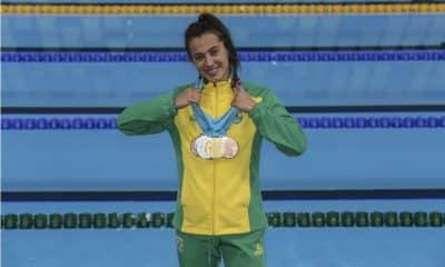 Larissa Oliveira natação Jogos Pan-Americanos de Lima
