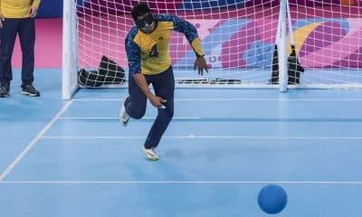 Leomon Moreno - Brasil x Venezuela - Goalball