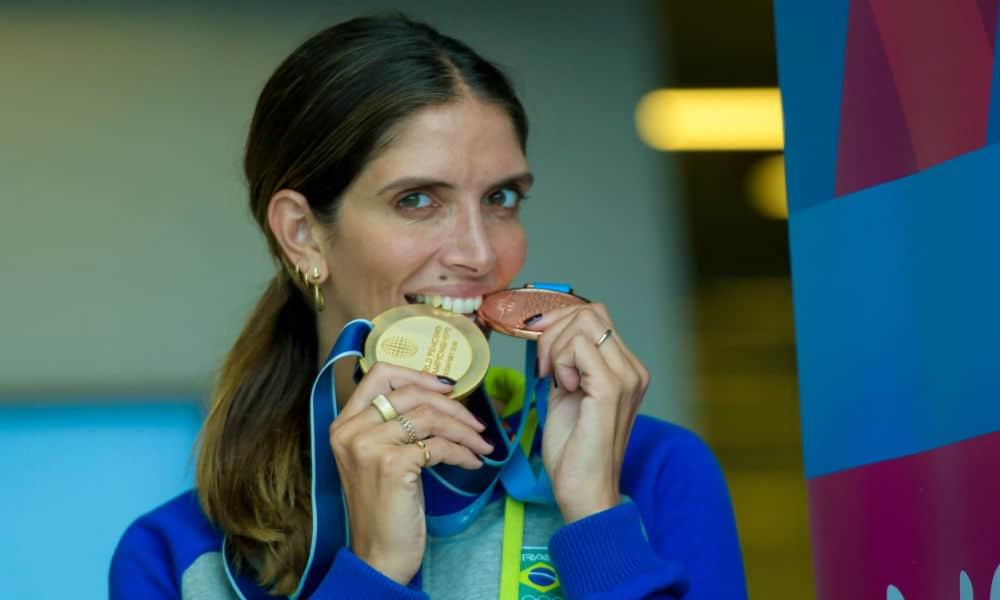 Nathalie Moellhausen disse que já está na lista de atletas brasileiros classificados para a Olimpíada de Tóquio