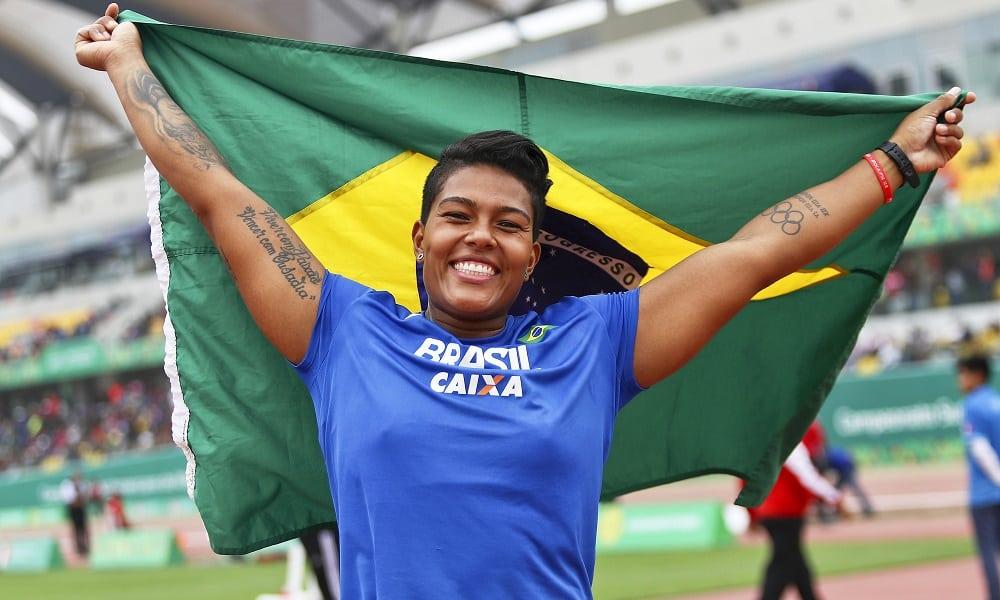 Geisa Arcanjo nos Jogos Pan-Americanos