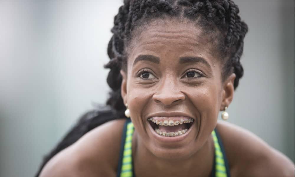 Vitória Rosa, do atletismo