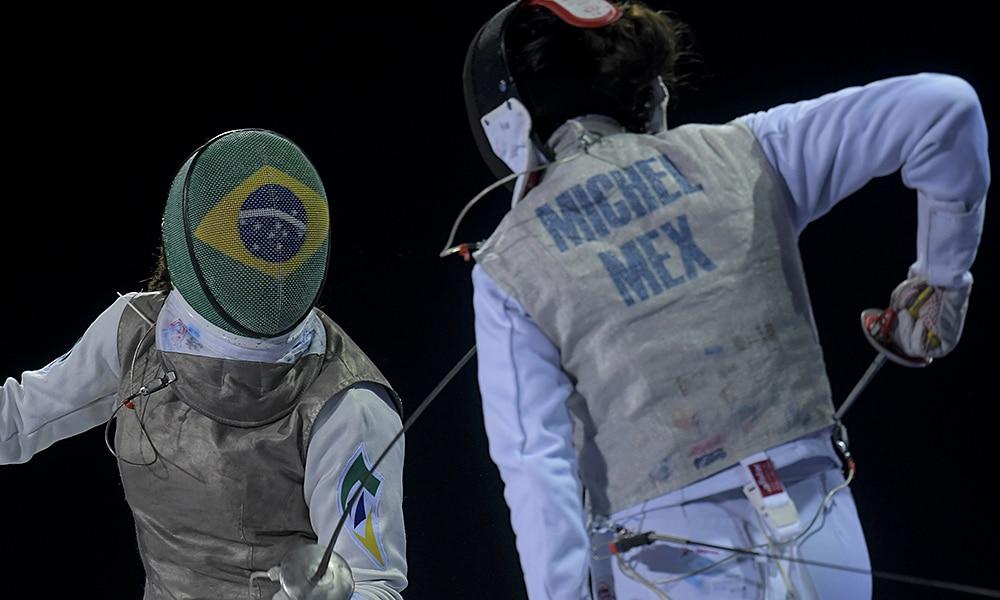 Bia Bulcão, esgrima, Jogos Pan-Americanos