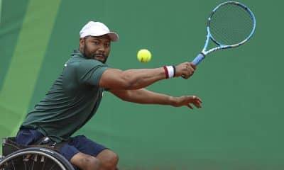 Daniel Rorigues tênis de cadeira de rodas no Parapan