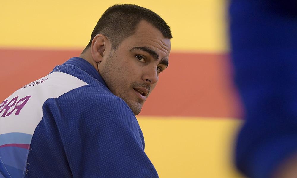 David Moura, do judô, nos Jogos Pan-Americanos