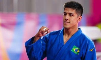 Eduardo Yudy, no judô dos Jogos Pan-Americanos
