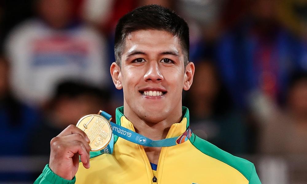 Eduardo Yudy, no judô dos Jogos Pan-Americanos - Eduardo Yudi -