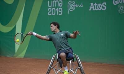 Gustavo Carneiro tênis de cadeira de rodas no Parapan