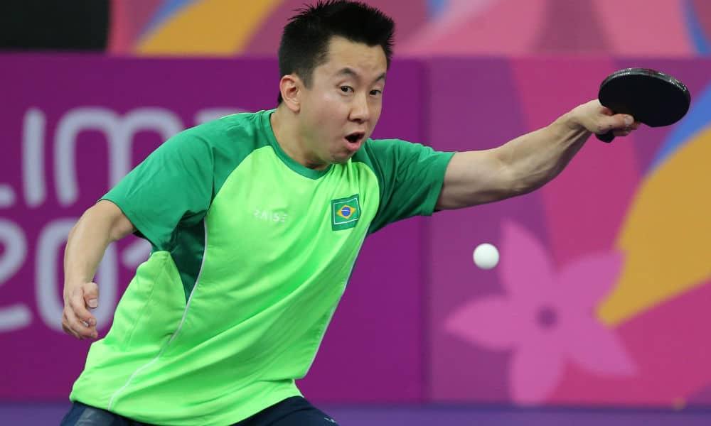 Gustavo Tsuboi - Jogos Olímpicos de Tóquio 2020 - Olimpíada - tênis de mesa masculino - individual - equipes -