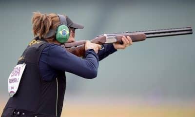 Janice Teixeira, da fossa olímpica, nos Jogos Pan-Americanos