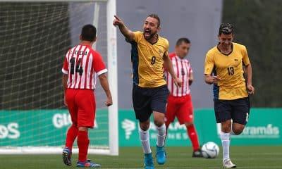 Jeferson Miranda, do futebol de 7, no Parapan