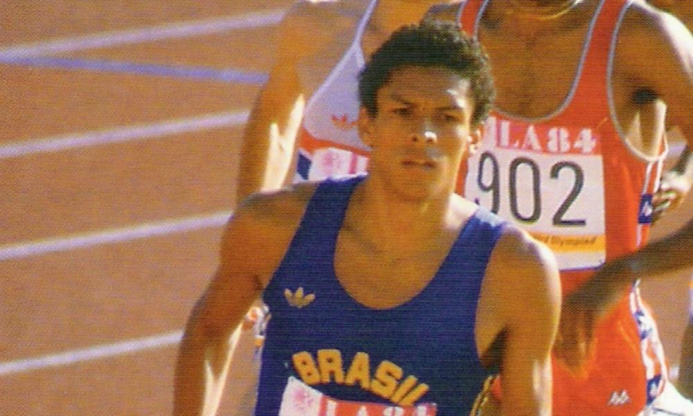 Joaquim Cruz foi ouro nos 800m masculino nos Jogos Olímpicos de Los Angeles-1984